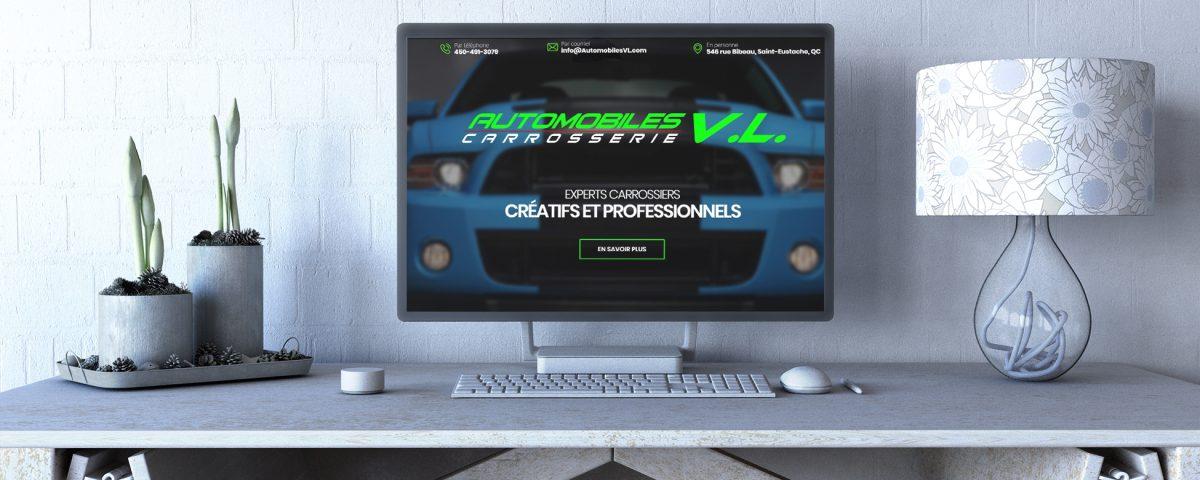 Site Web Automibles VL
