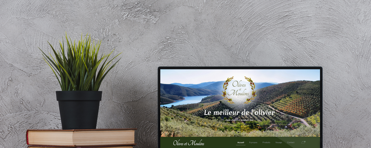 Site Web Olives et Moulins