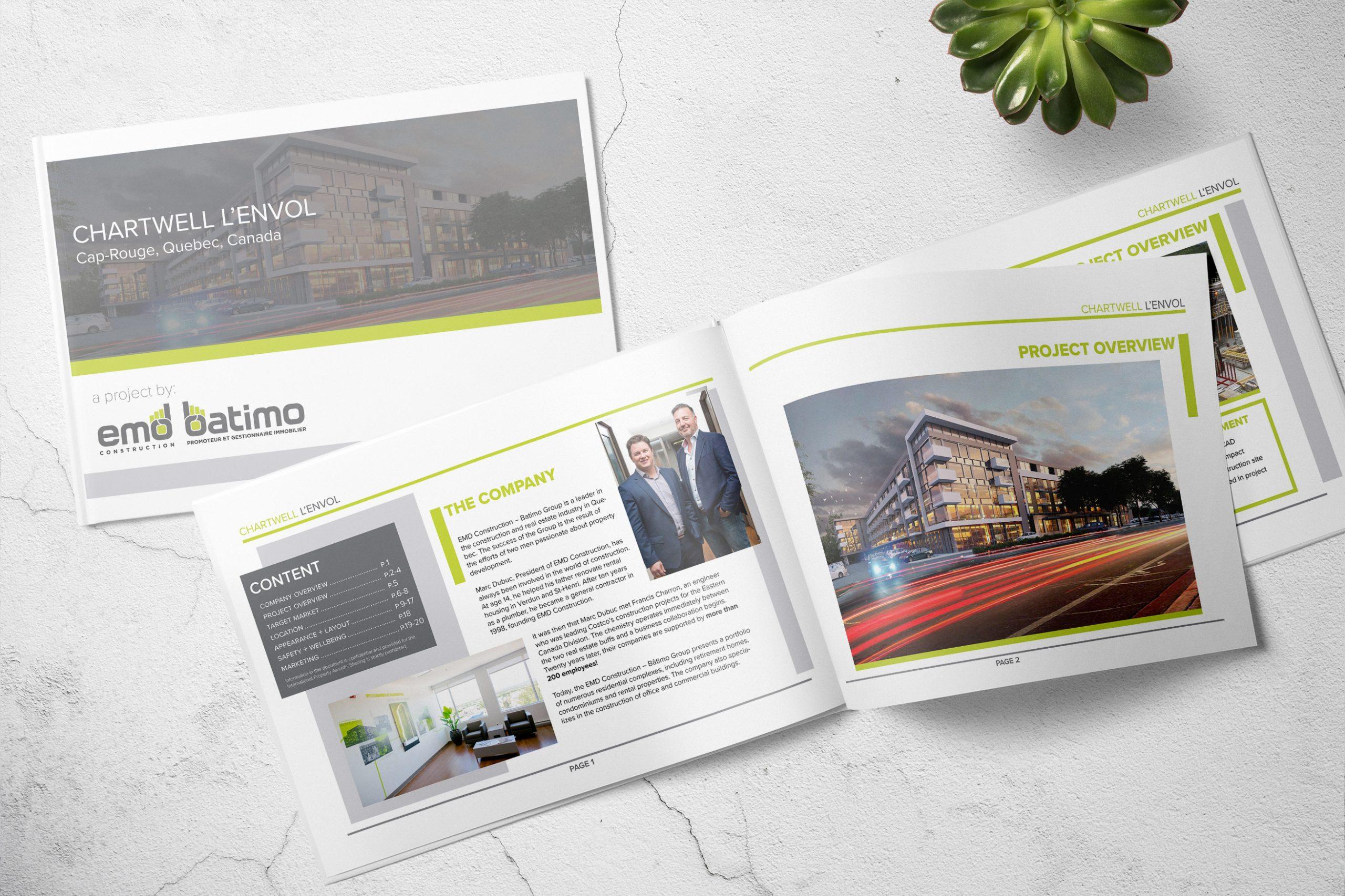 EMD-Batimo: Document Corporatif