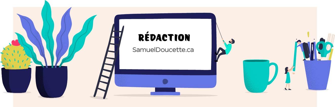 Service de Rédaction Web - Entête
